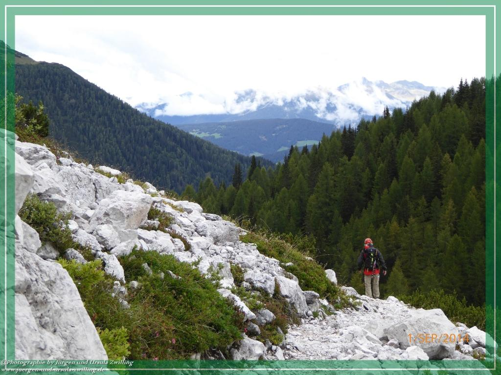 Philosophische Bildwanderung - Zu den Gsellwiesen in  Sexten - Dolomitien