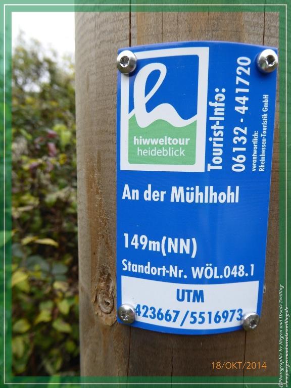 Philosophische Bildwanderung Hiwweltour-Heideblick