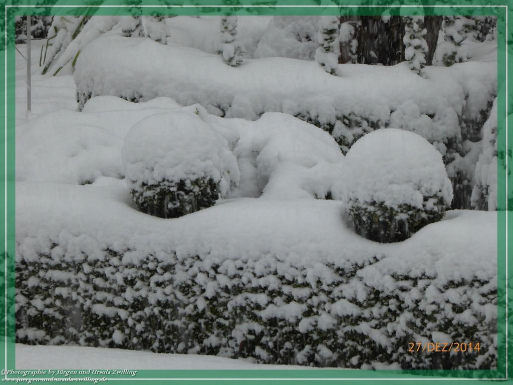 27.12.2014 Schnee