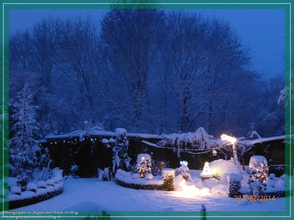27.12.2014 Weihnachtsmärchen Garten