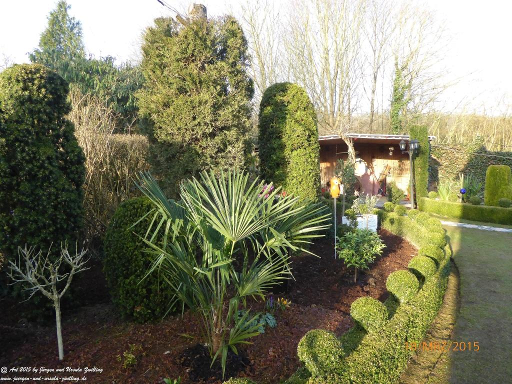 18.03.2015 - Garten in Pool-Position
