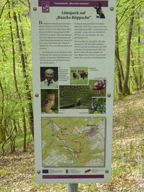 Philosophische Bildwanderung Murscher Eselsche - Hunsrück