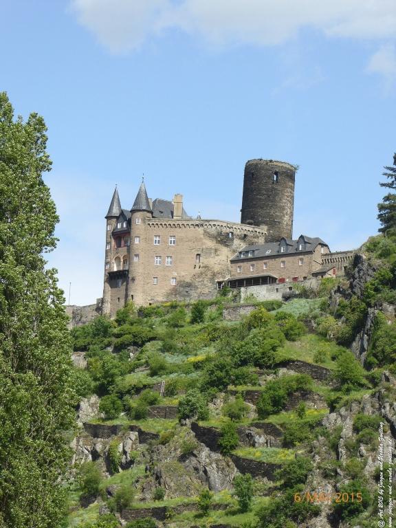 Philosophische Bildwanderung  Loreley-Extratour  im Mittelrheintal - Zum Superstar der Rheinromantik