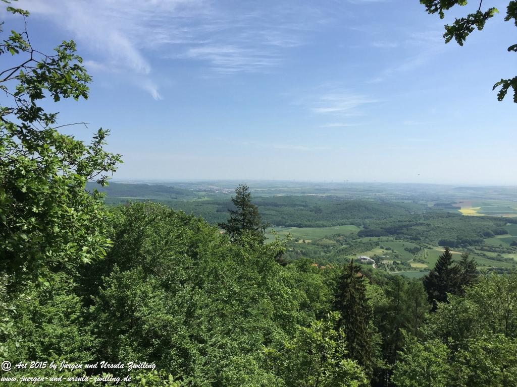 Philosophische Bildwanderung Die Donnersberg-Felsen - Pfalz