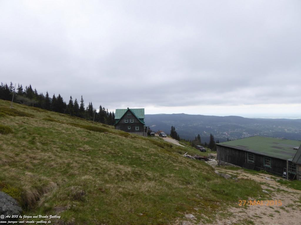 Philosophische Bildwanderung -  Szklarska Poreba - Wodospad Szklarki - Hala pod Łabskim Szczytem - Polen - Tschechien(Schreiberhau -Kochelfall -Alte Schlesische Baude - Karkonosze - Krakonoše -Riesengebirge
