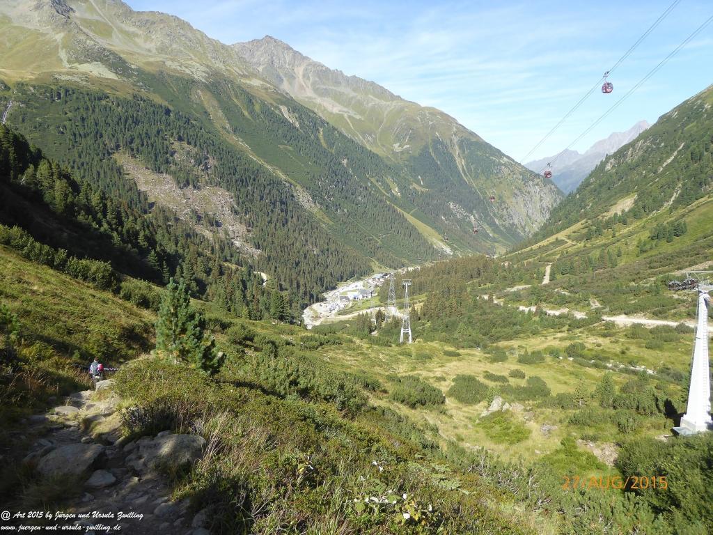 Philosophische Bildwanderung Dresdner Hütte  - Neustift in Tirol - Stubaital - Österreich