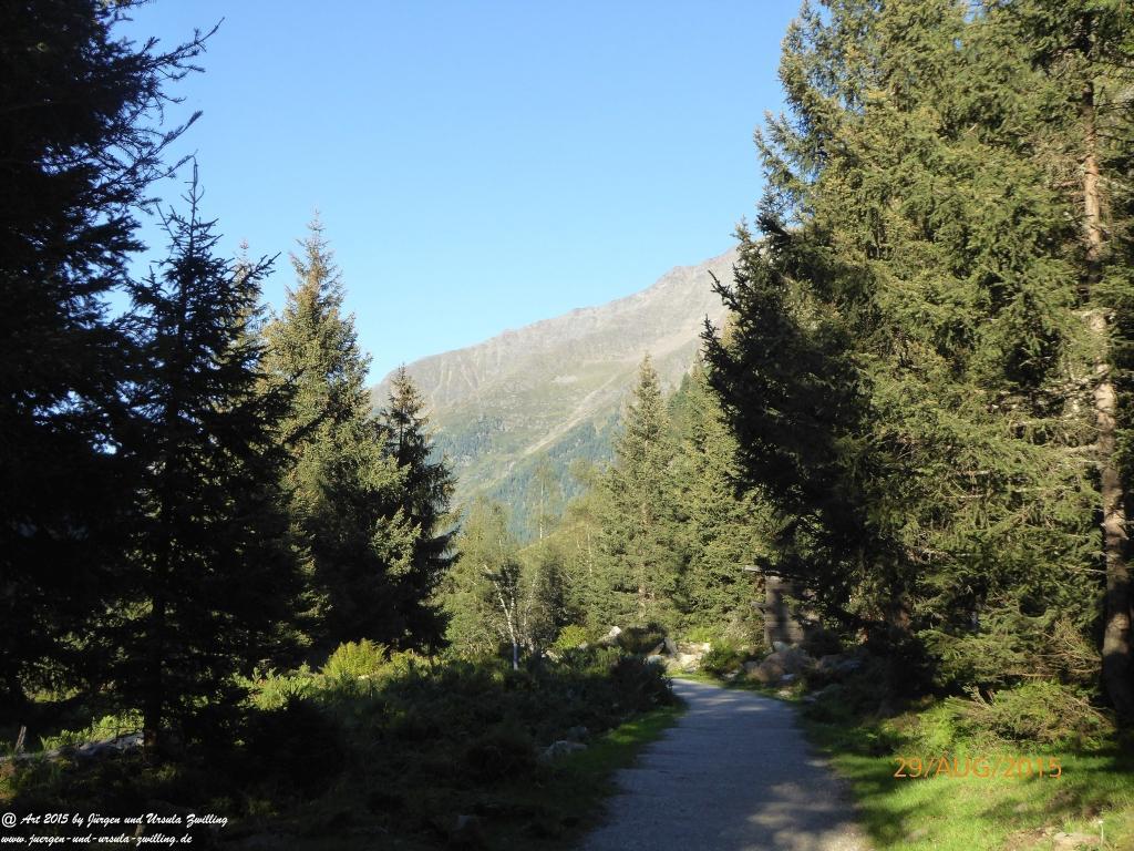 Philosophische Bildwanderung Sulzenau Hütte - Neustift in Tirol - Stubaital - Österreich
