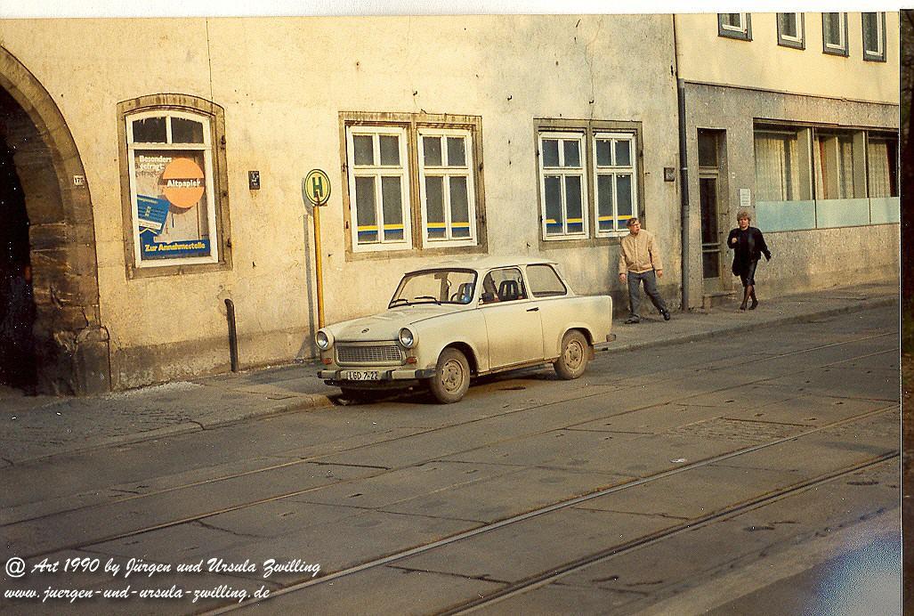 Erfurt Mai 1990