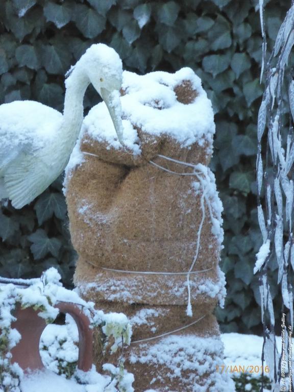 Garten mit Winterschutz