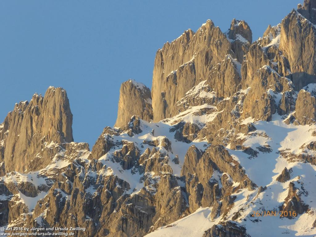Wilder Kaiser - Tirol - Kaisergebirge - Österreich