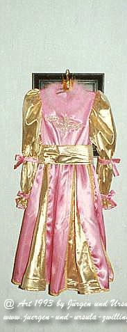 Historsiches Kinder Fastnachtskostüm - Prinzessin - selbst genäht