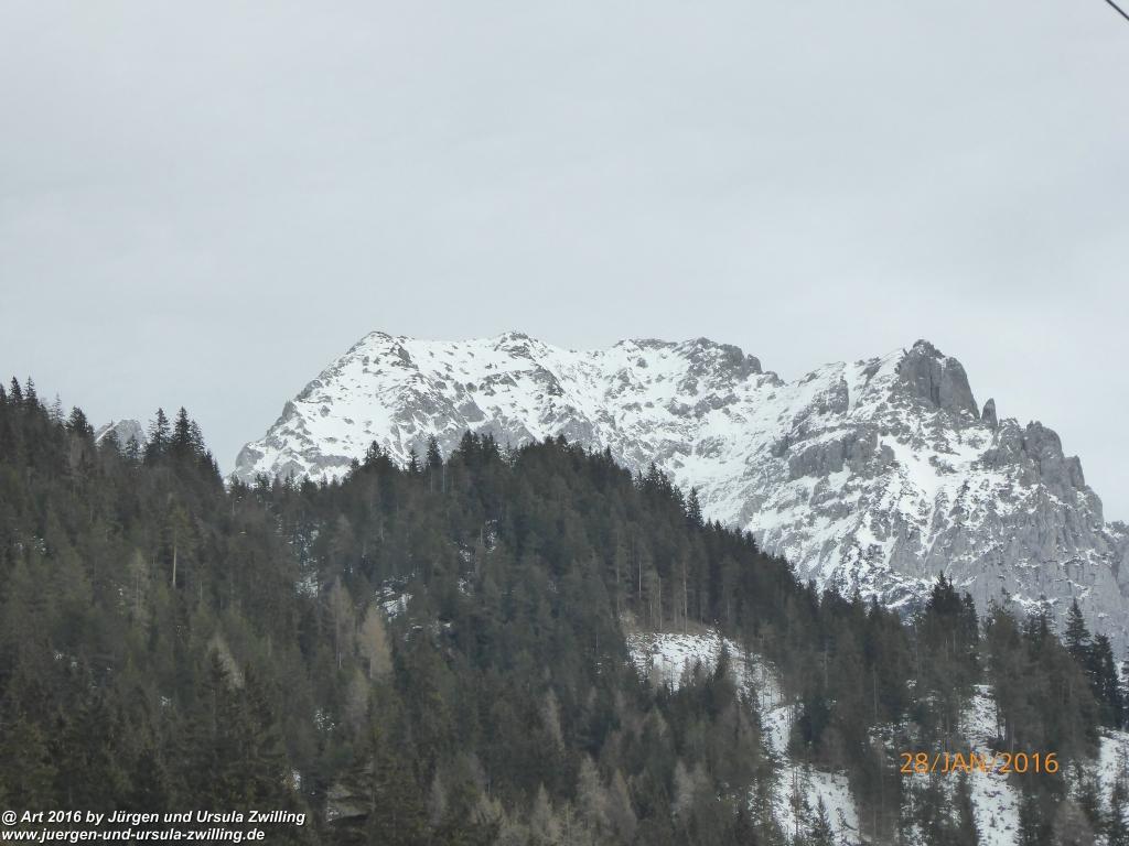 Philosophische Bildwanderung - Schneerosenweg - Scheffau - Tirol - Österreich