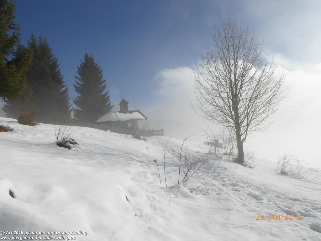 Philosophische Bildwanderung - Wochenbrunn - Alm - Ellmau - Tiro - Österreich