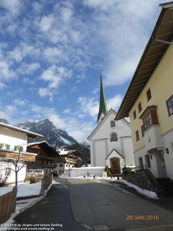 Scheffau -Tirol - Kaisergebirge - Österreich