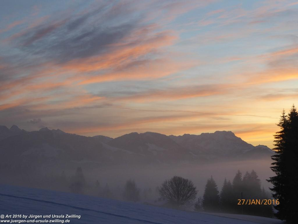 Mondschein und Morgenrot am Wilden Kaiser- Kaisergebirge - Österreich