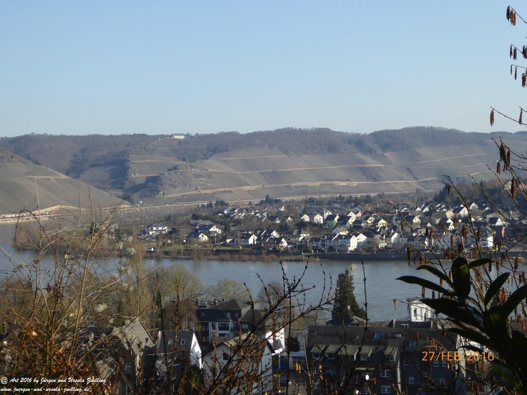 Philosophische Bildwanderung  Wanderweg -Traumschleife-Elfenlay - Boppard am Rhein