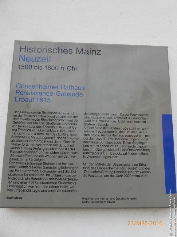 Osterbrunnen in Mainz Gonsenheim - Rheinhessen