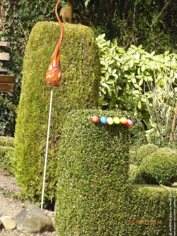 Garten start up an Ostern
