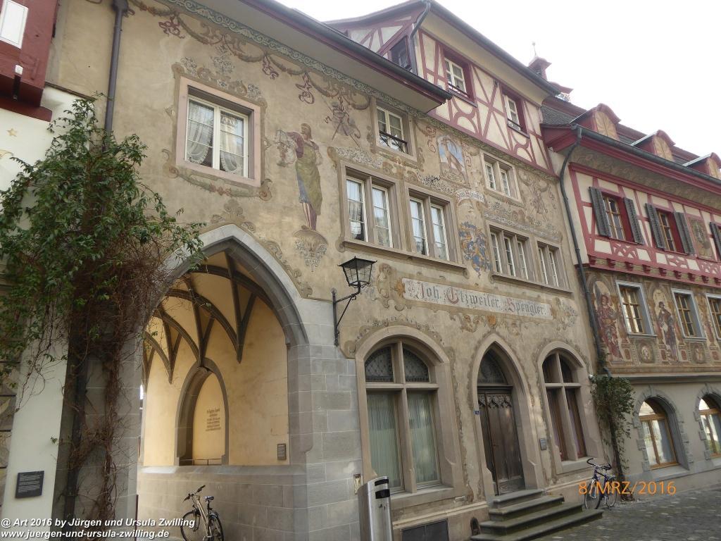 Philosophische Bildwanderung Vom-Stiegen - Öhningen nach-Stein-am-Rhein - Bodensee - Schweiz