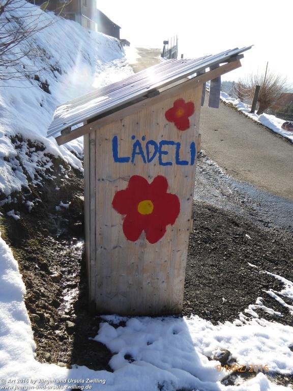 Philosophische Bildwanderung Rorschach -Staad - Landegg - Fünfländerblick -  Rorschach - Appenzeller Land - Bodensee - Schweiz
