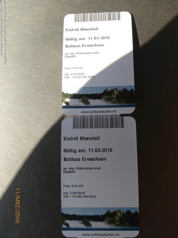 Rheinfall - Schaffhausen- Bodensee - Schweiz