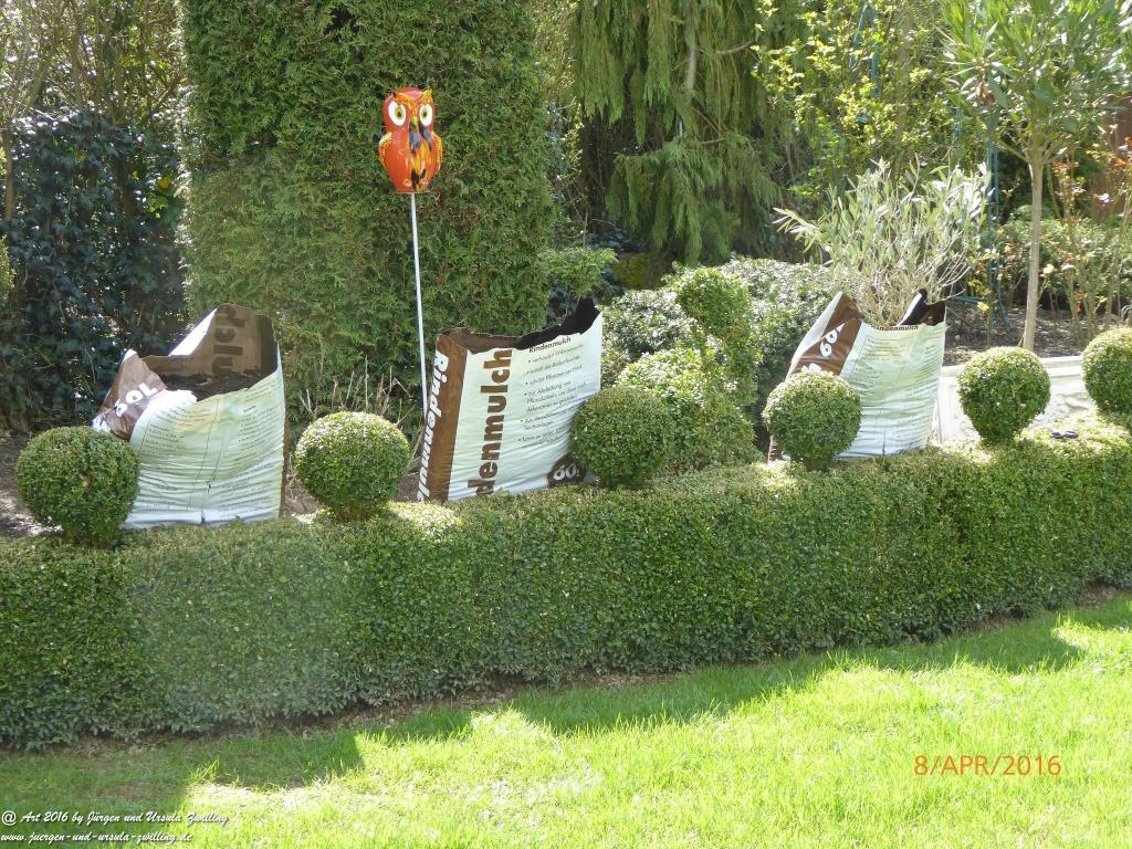 Gartenpflege -Gartenarbeit
