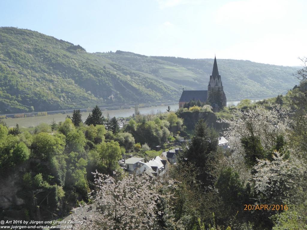 Philosophische Bildwanderung Schwede-Bure-Tour Oberwesel - Rhein