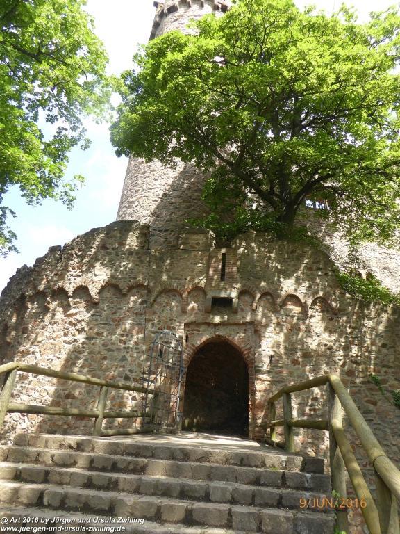 Schloss-Auerbach - Odenwald