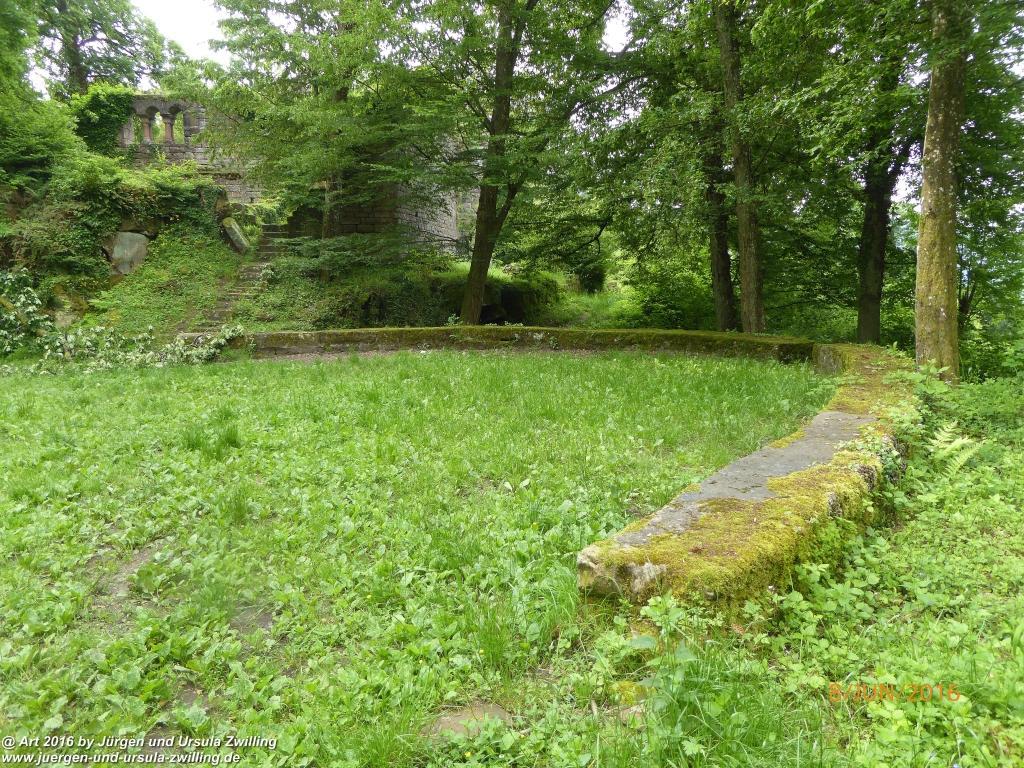 Philosophische Bildwanderung Von Eberbach am Neckar zum Katzenbuckel - Odenwald