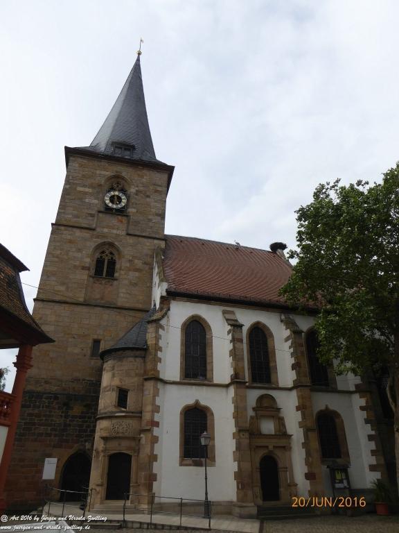 Freinsheim an der Deutschen Weinstraße - Pfalz