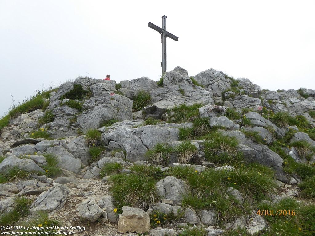Gipfeltraumtour von Neuhaus auf die Brecherspitze und Josefsthaler Wasserfälle  - Schliersee - Tegernsee