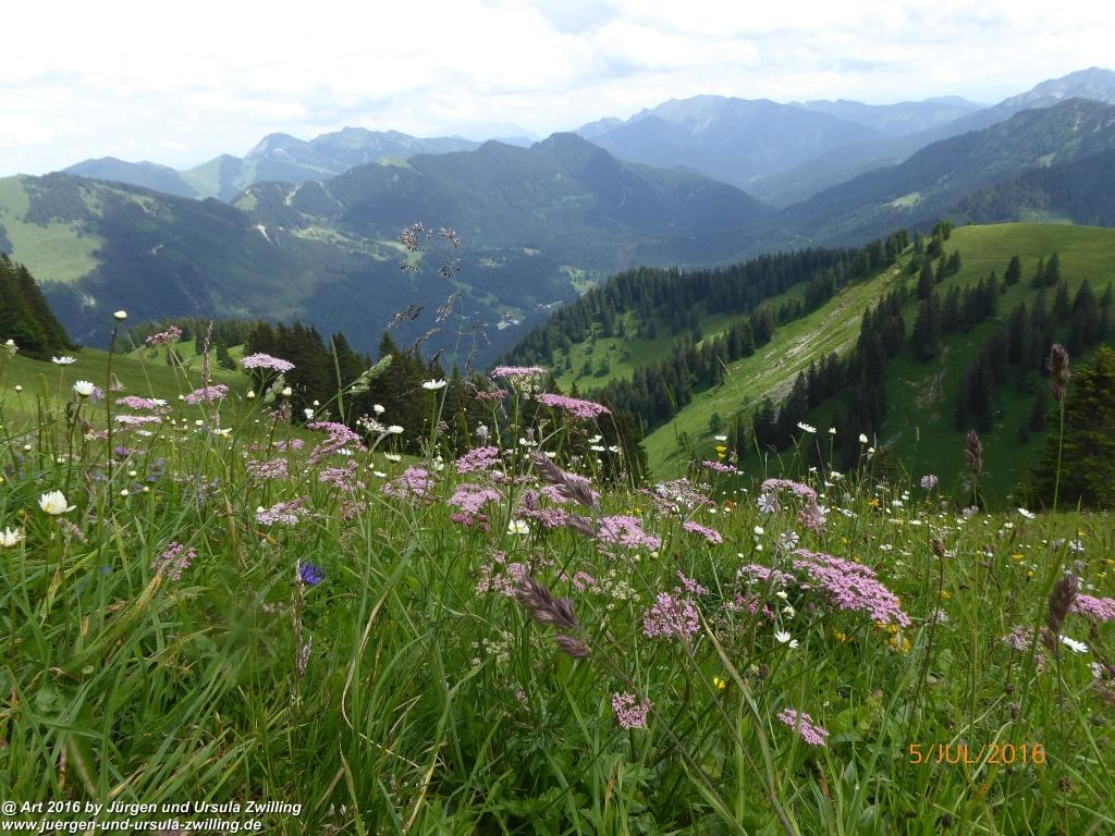 Philosophische Bildwanderung Gipfeltraumtour-auf-den-Wallberg - Tegernsee - Schliersee
