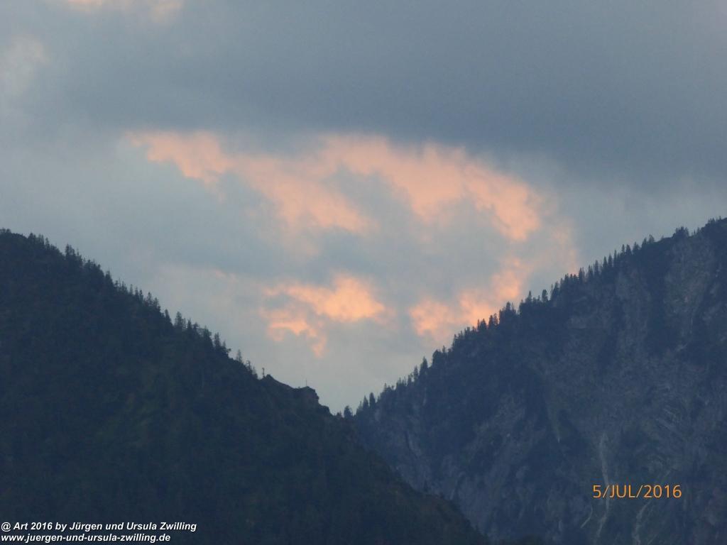 Wolkenspiel über Fischbachau - Schliersee - Tegernsee