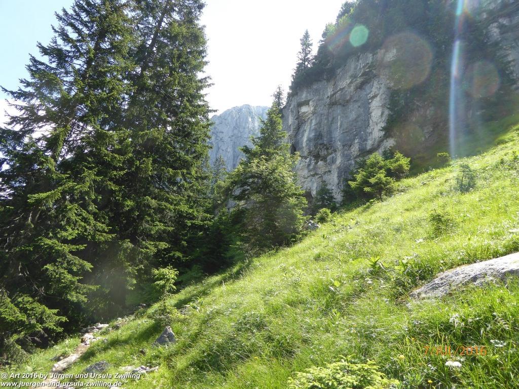 Philosophische Bildwanderung Gipfeltraumtour von Fischbachau auf den Wendelstein - Schliersee -Tegernsee