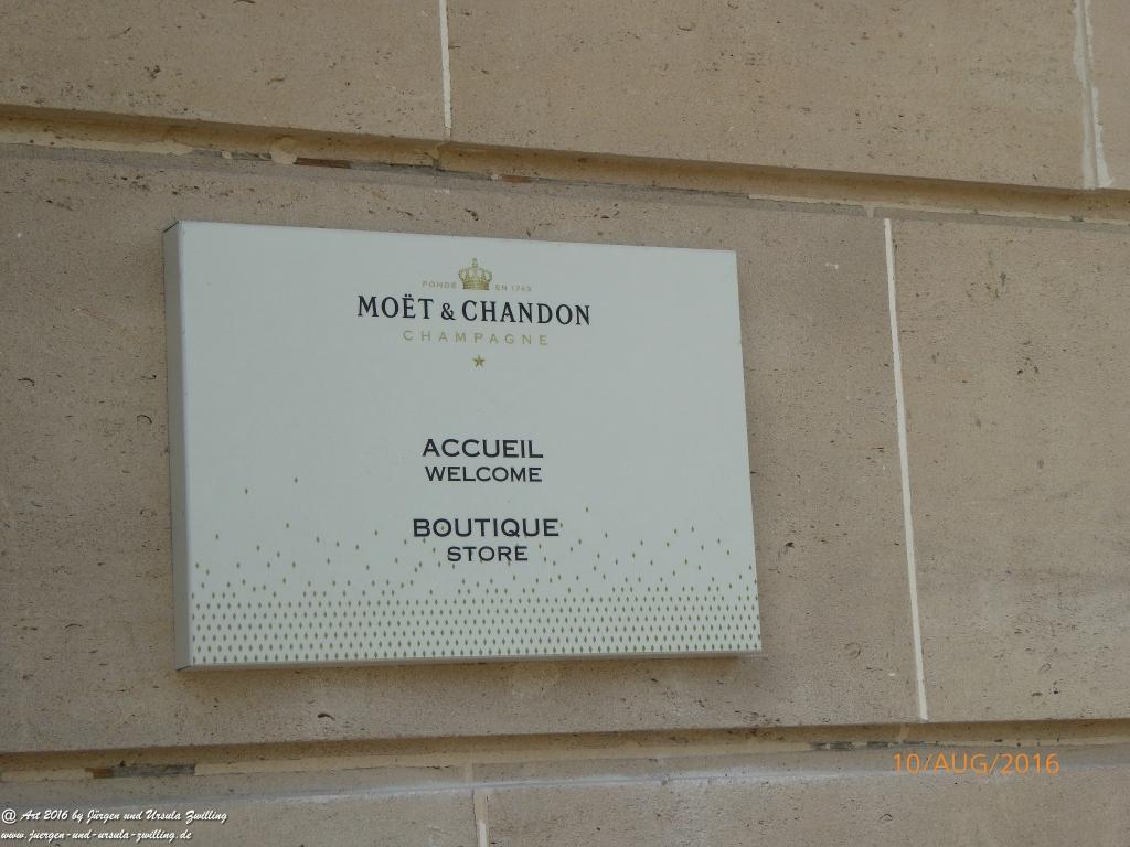 Èpernay in der Champagne - Frankreich