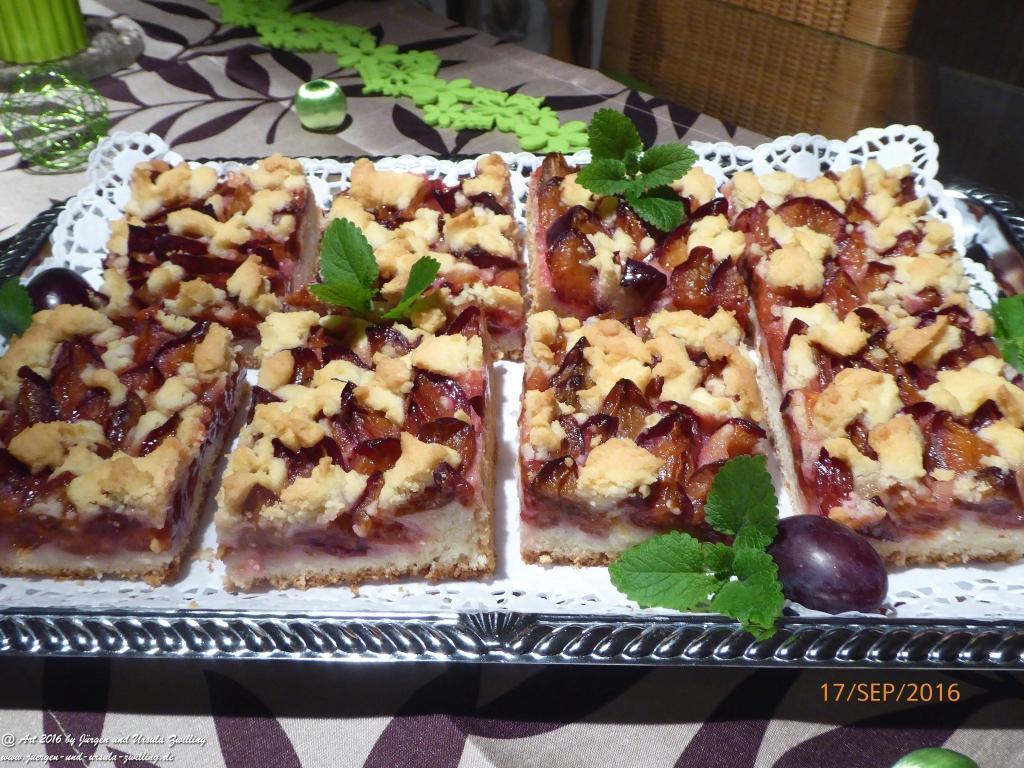 Ursula\'s  Zwetschgenkuchen