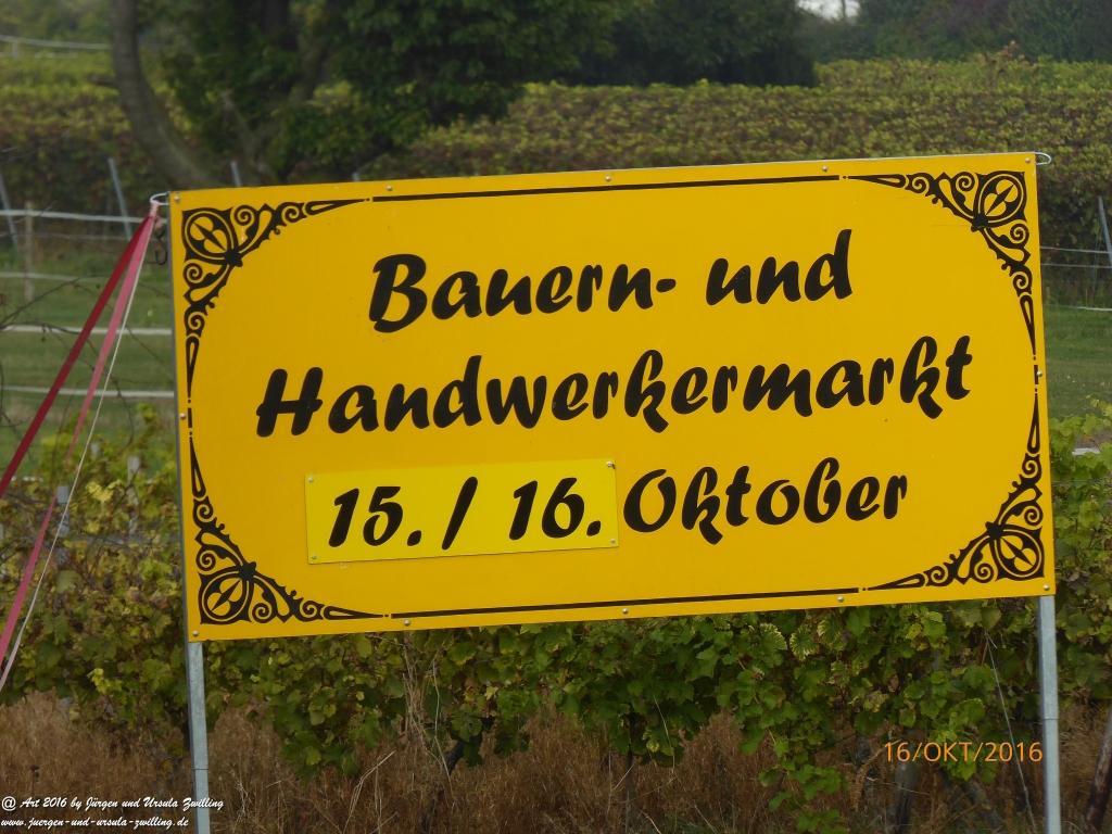 Bauern- und Handwerkermarkt in Nieder Hilbersheim - Rheinhessen