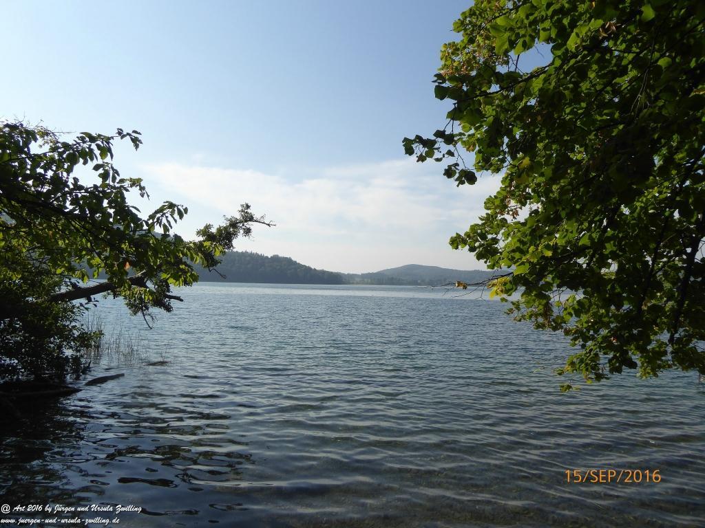 Philosophische Bildwanderung  Pellenzer Seepfad und Maria Laach -Eifel