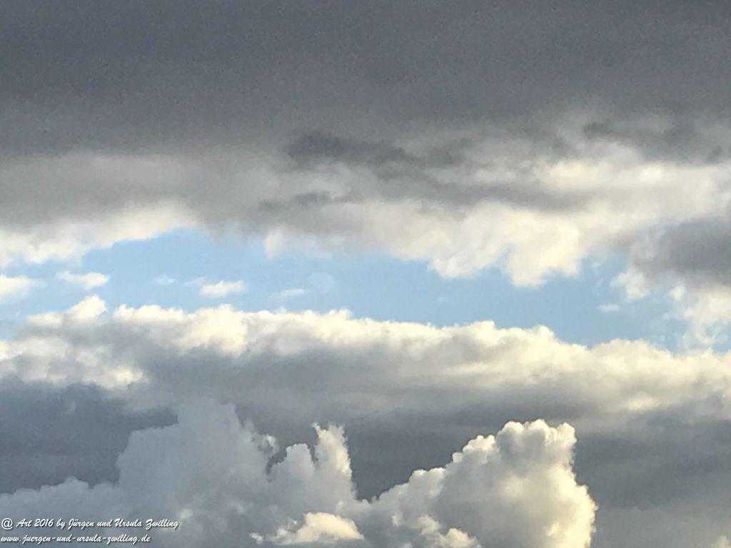 Wolken - Spiel über Rheinhessen