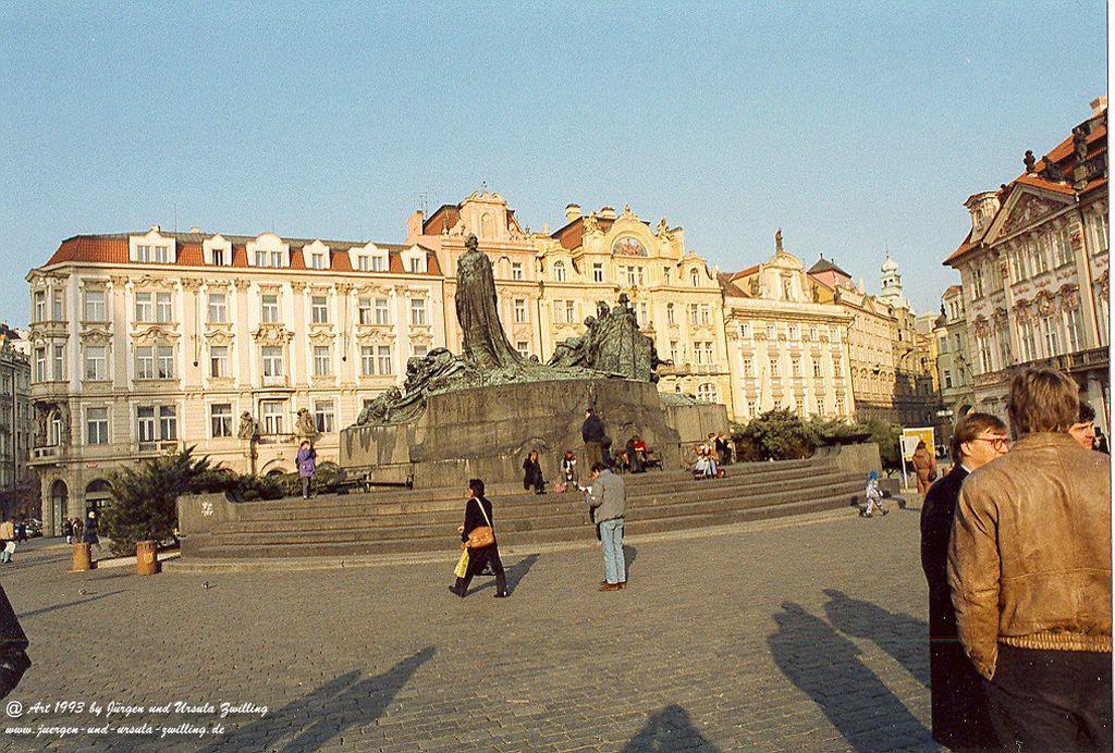 Prag 1993  in Tschechien