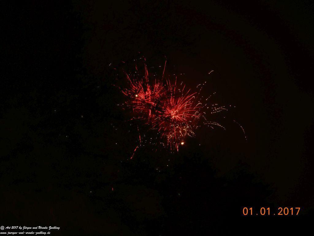 Feuerwerk - Sylvester 2016 Neujahr 2017