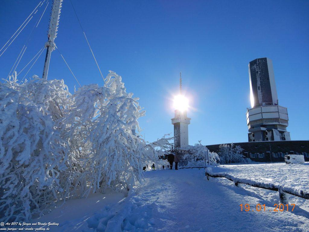 Philosophische Bildwanderung Winter Wonderland am Großen Feldberg-Taunus mit alpinem Charakter