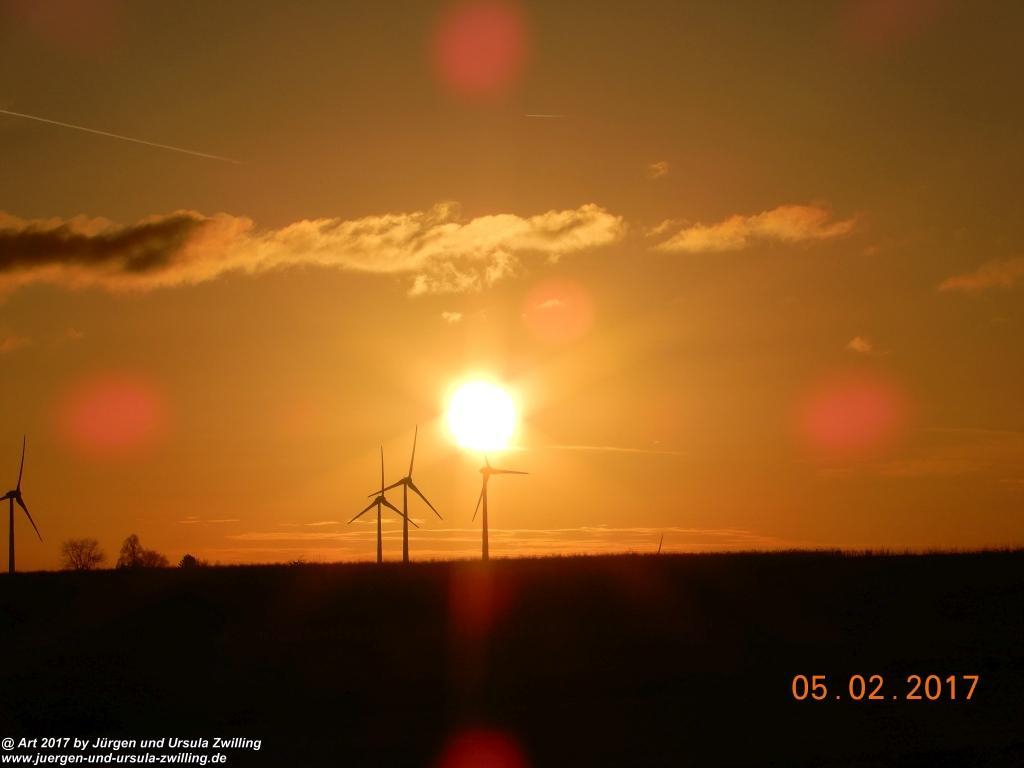Sonnenaufgang über Mainz - Rheinhessen