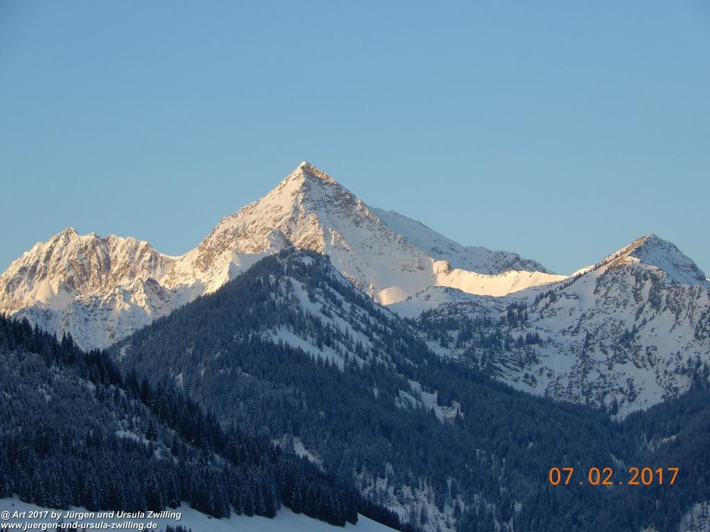 Morgenerwachen im Tannheimer Tal (Sonnenaufgang) - Österreich