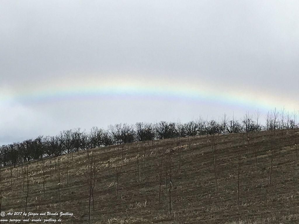 Regenbogen über Mainz - Rheinhessen