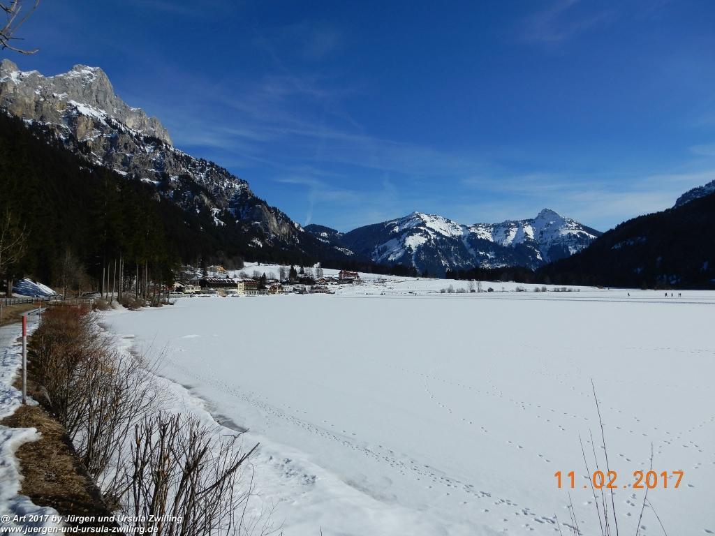 Philosophische Bildwanderung Grän - Adlerhorst - Haller - Haldensee - Grän - Tannheimer Tal - Österreich