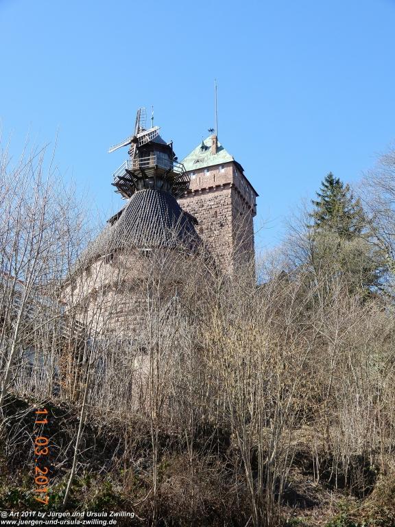 Haut-Koenigburg - Hohkönigsburg - bei Orschwiller -  Elsass -Bas-Rhin - Frankreich