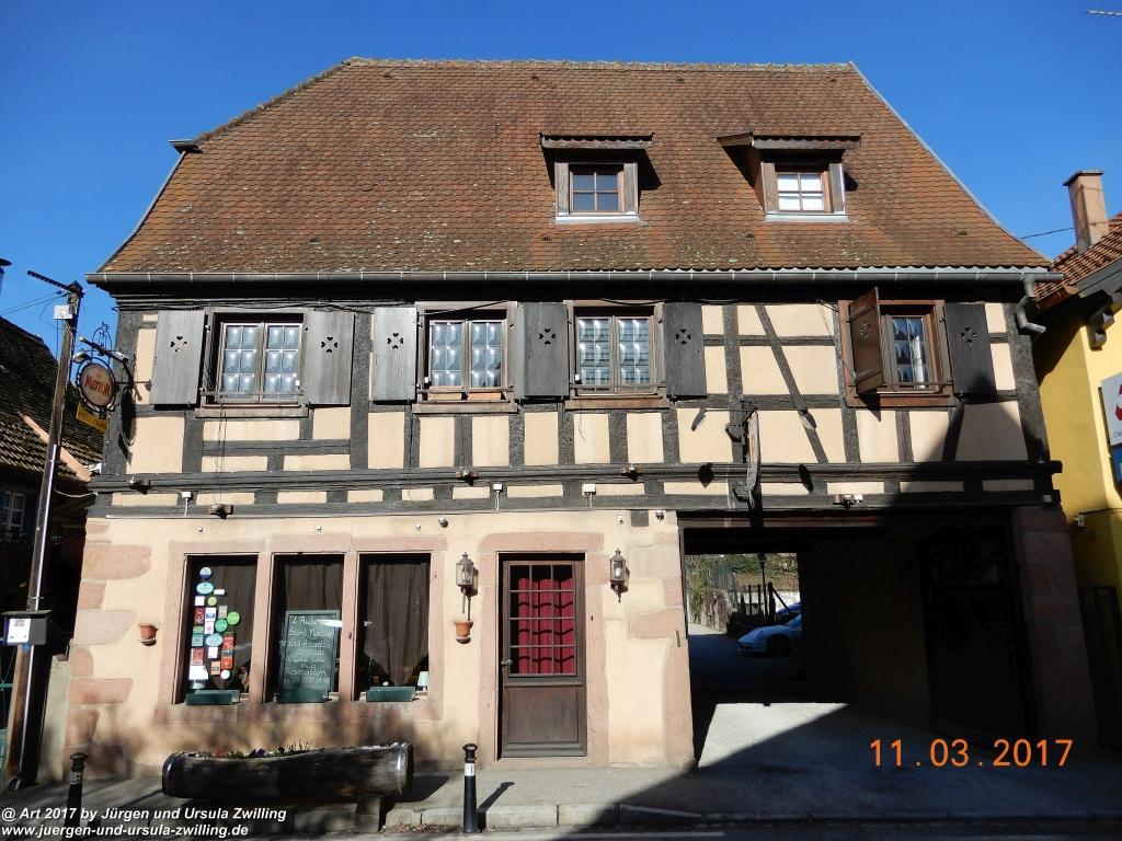 Kintzheim - Elsass -Bas-Rhin - Frankreich