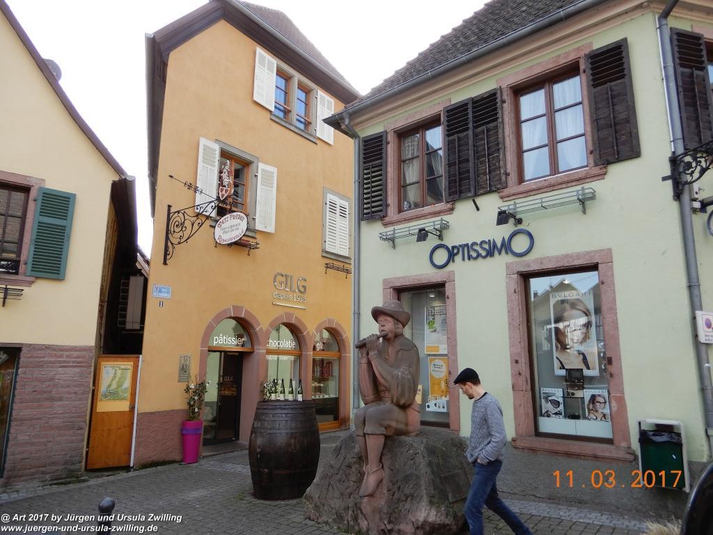 Ribeauvillé -  Elsass -Haut-Rhin - Frankreich