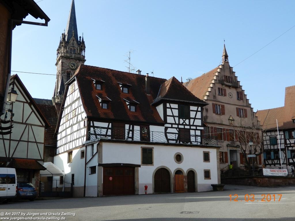 Dambach-laVille - Elsass - Grand Est - Bas- Rhin- Frankreich
